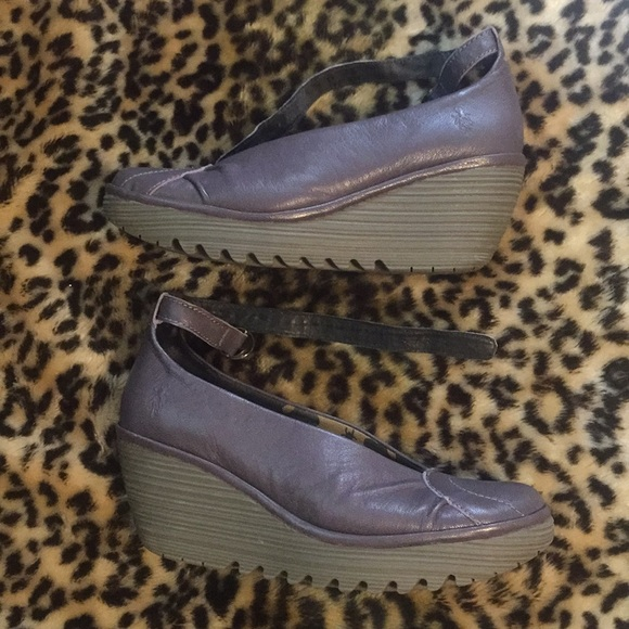 Fly London Shoes - FLY London Nordstrom Gray Platform Wedges 40 0db9010104a2